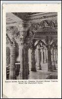 Pillars NEMNATH Dilwara Mount Abu Temples Indien India Vintage Postcard ~1920