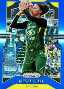 2020 Panini Prizm WNBA Prizms Blue #68 Alysha Clark /149 Seattle Storm