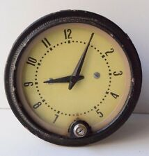 Vintage Russian USSR Military Army Aviator Airplane Tank Special Metal Clock