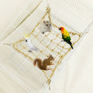 Large Parrot Birds Pet Rope Jungle Swing Climbing Play Ladder Chew Parakeet Toys