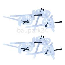 10x120mm 200 PVC Dämmstoffhalter EPS Dämmstoffdübel Tellerdübel Thermodübel VWS