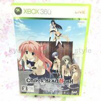 USED Xbox 360 CHAOS; HEAD NOAH Chaos head Noah Normal Edition 20171 JAPAN IMPORT
