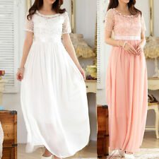 Round Neck Special Occasion Short Sleeve Dresses for Women