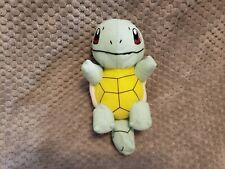 "Pokemon GO Nintendo Squirtle 8"" Soft Plush Toy Factory Doll Stuffed U.S. Seller"