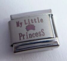 MY LITTLE PRINCESS Italian Charm 9mm I Love my Daughter fits Classic Bracelets