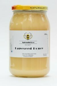 1.25 KG NATURAL RAPESEED HONEY/NATURALNY MIÓD RZEPAKOWY (MIOD) 2020