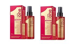 New Revlon Uniq One Original All In One Hair Treatment 150ml Pack of 2