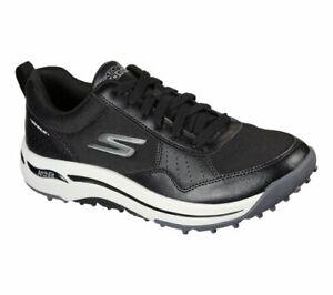 Skechers GO GOLF Arch Fit - Line Up 214018 Golf Shoe - Black/White