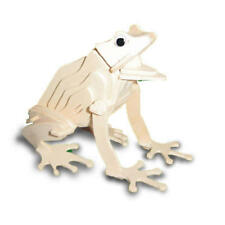 Frog 3D Wooden Modelling Kit Model Jigsaw Puzzle