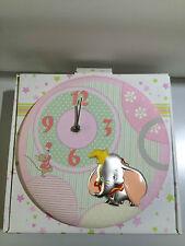 Orologio da parete Dumbo in tessuto e argento DISNEY WTD4025/R regalo nascita