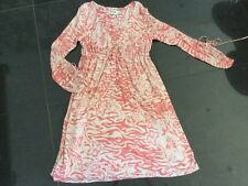 Alice By Temperley New & Genuine Ladies UK Size 12 Salmon Pink Silk Blend Dress