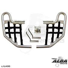 LTZ 400 KFX 400 DVX 400 Nerf Bar Nets Alba Tusk Sixity   Green    A
