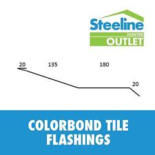 Colorbond Tile Flashings - Per Meter