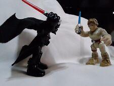 starwars galactic rivals figures,luke Skywalker,darth Vader,stormtrooper