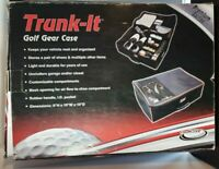 Trunk-It Golf Gear Case Storage Trunk Organizer Locker for Car Truck