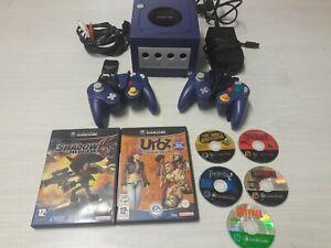 nintendo gamecube + 7 jeux