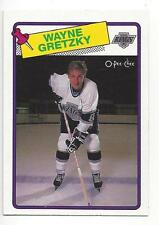 Wayne Gretzky 1988-89  O-Pee-Chee NHL Hockey Trading Card # 120 Kings