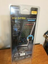 Smart JUMBO Universal remote w/LUMINENCENT touch pad - Control Up to 8 Devices
