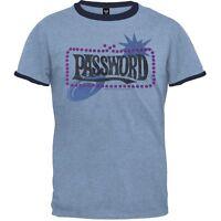 Password - Classic Logo Ringer Adult Mens T-Shirt