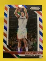 BRADLEY BEAL 2018-19 Prizm Red White Blue Refractor SP Parallel Wizards Florida