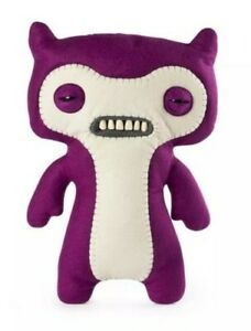 "FUGGLER ""Funny Ugly Monster"" LIL DEMON Plush Creature w/Teeth -Purple- NEW"