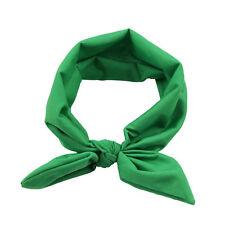 Hair Accessories Ribbon Bowknot Elastic Hair Band for Women braided headband