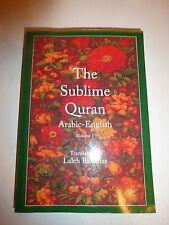 The Sublime Quran Arabic-English by Laleh Bakhtiar Paperback Book 2008 B262