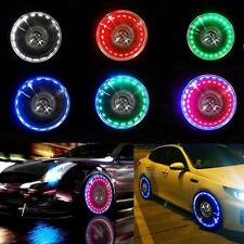 Bike Car Motorcycle Wheel Light Solar LED Fast Flash Tire Tyre Valve Cap Lamp