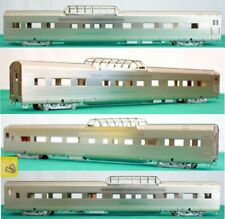 California Zephyr CB&Q 4719 Silver Ranch Dome Oriental Lt Plated Brass HO BA204