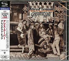 ALICE COOPER-ALICE COOPER`S GREATEST HITS-JAPAN SHM-CD C41