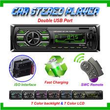 Bluetooth Car Stereo Audio Radio MP3 Player Single 1 Din  FM/SD/TF USB AUX