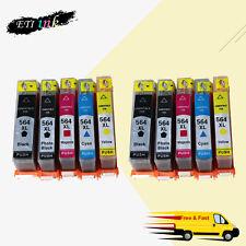 564XL 564 XL Ink Cartridge for HP Photosmart 6510 6520 7510 7515 7520 7525 10PK