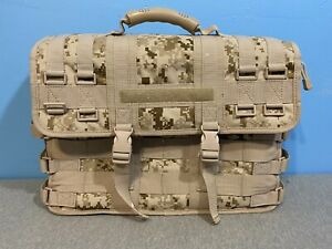 MULTICAM Tactical Military Laptop Computer Field Briefcase Travel Bag Case