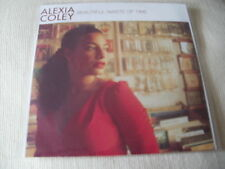ALEXIA COLEY - BEAUTIFUL WASTE OF TIME - 2 TRACK PROMO CD SINGLE