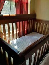 Brown Unisex Crib