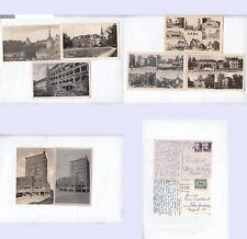 Gera 8 div. Kleinformatkarten (10.025) unterschiedliche Erhaltung. stampsdealer