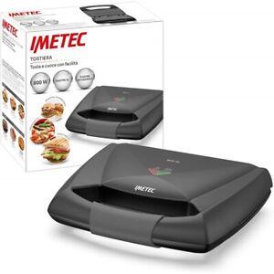 Tostapane Imetec Tostiera Piastra Toast Antiaderente 800W - Dolcevita SM3 - 7857