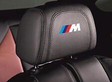 5x BMW M-TECH Logo HEADREST Badges Stickers Decals Emblems Fit all Models M3 M5