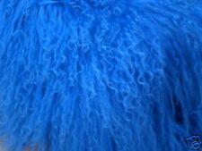 The Knaller: Tibetan Lamb Helles Royal Blue, 10 x 10 CM