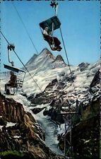 Grindelwald Kanton Bern ~1950/60 Firstbahn Schreckhörner Gletscher Sesselbahn