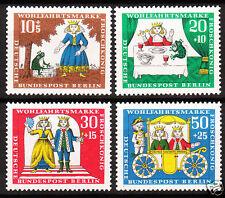 Berlin 1966 Mi. Nr. 295-298 Postfrisch LUXUS!!