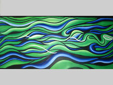 Abstract Art Painting By Jane COA   Large Canvas Australia