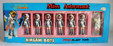 RARE AIRGAM BOYS MISS ASTRONAUT SPACE SERIES PYROPLAST GREEK 80'S GREECE NEW !