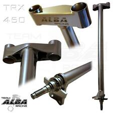 "Honda TRX 450R TRX450R 450  Steering Stem  +1""    Chromed  Alba Racing    703S"