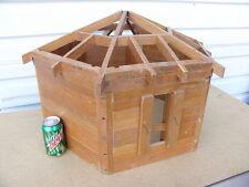 A Log Grainery Salesman's Sample Model Kalispell MT Lincoln Logs Doll House T