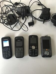 job lot old mobile phones Samsung and Nokia