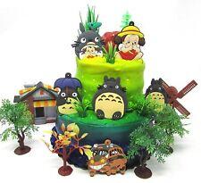 Totoro Deluxe Birthday Cake Topper Set Featuring Totoro          ***BRAND NEW***