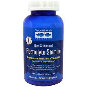 Trace Minerals Research Electrolyte Stamina for Energy, Endurance - 300 Tablets