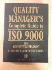 Quality Manager's Complete Guide to ISO 9000: 1998 Supplement Prentice Hall