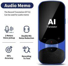 Translator Device Offline Translation Assistance Super Accuracy Online Translati